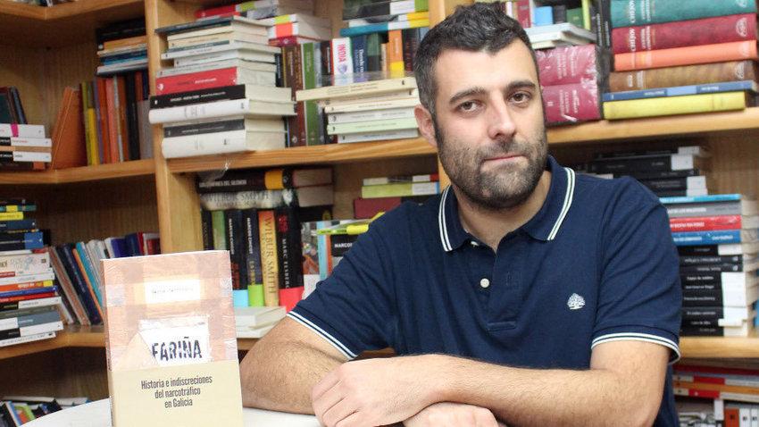 A editorial do libro de Nacho Carretero recorre o auto do seu secuestro b52eb521039