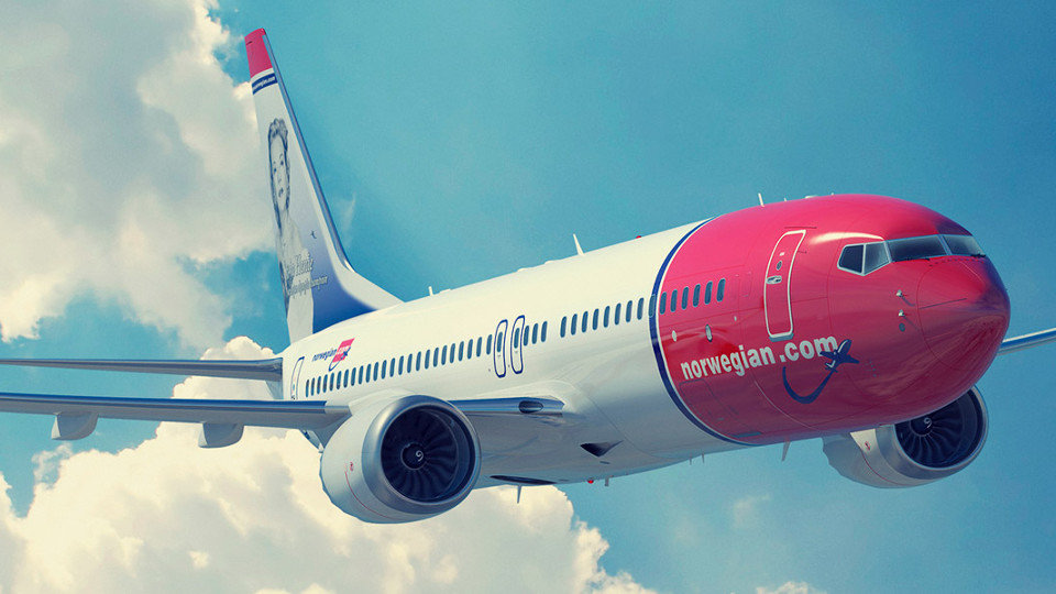 Un avión de  Norwegian Air. EP