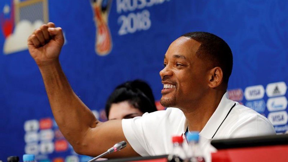 Will Smith, en rueda de prensa. FELIPE TRUEBA