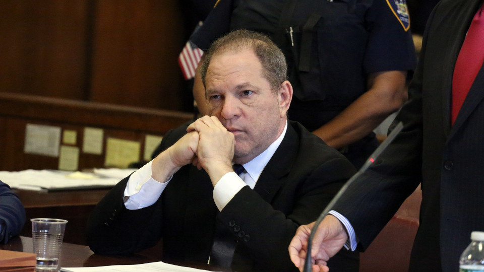 Harvey Weinstein ante el tribunal de Manhattan. EFE