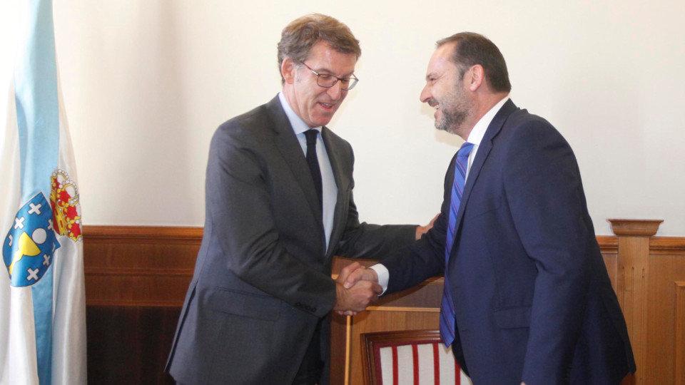 Ábalos anuncia que en 2020 el tiempo de conexión entre Madrid y Galicia se reducirá 2 horas