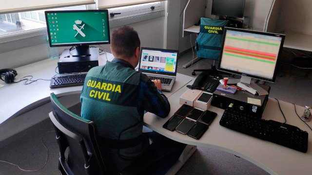 La operación Silver. GUARDIA CIVIL