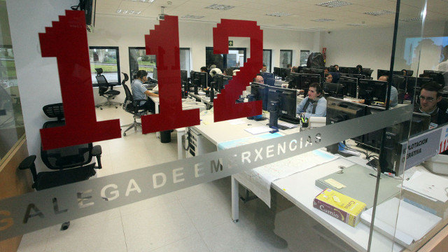 Oficinas do 112 en Santiago.