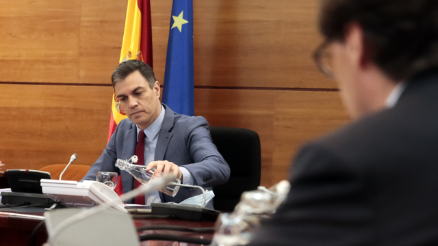 Sánchez preside o consello de Ministros. EUROPA PRESS