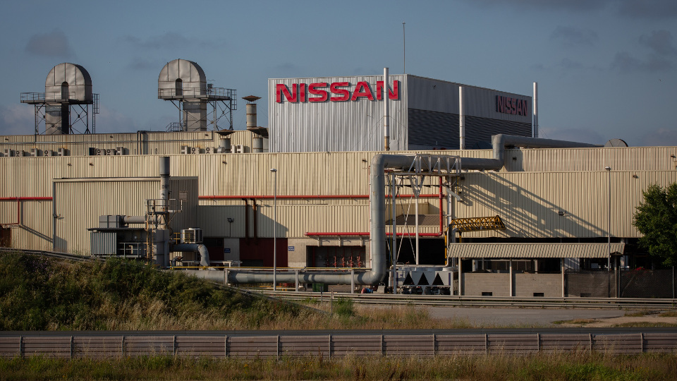 Planta de Nissan en Barcelona. EUROPA PRESS
