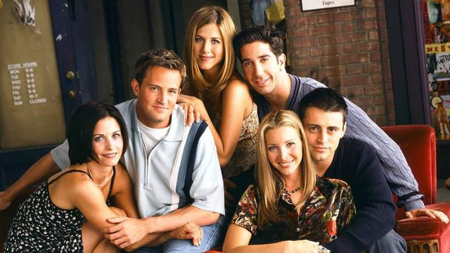 O elenco de Friends. EP