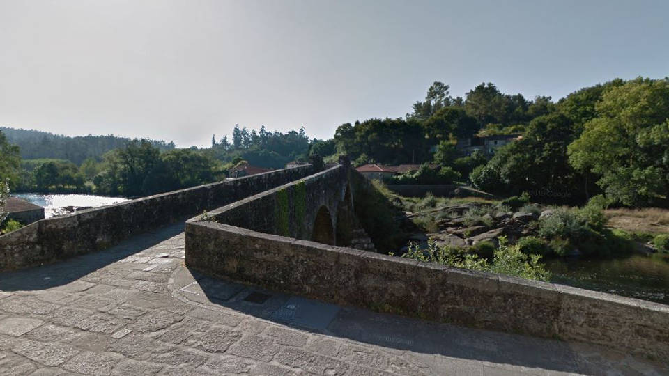 Ponte Maceira. GOOGLE MAPS